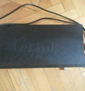 Управляемый свинч D-Link