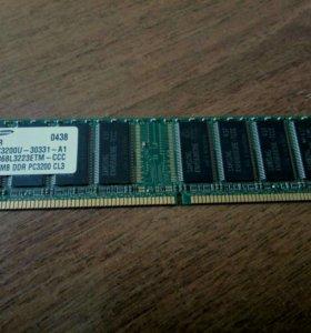 Оперативная память Samsung DDR 256Мб