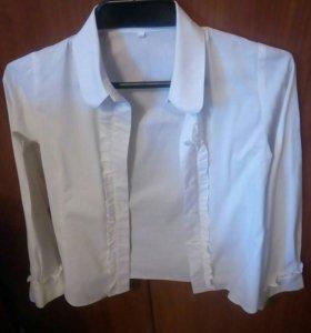 22. Блуза для девочки. Рост 152