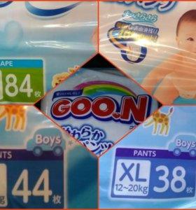 Японские подгузники Goon