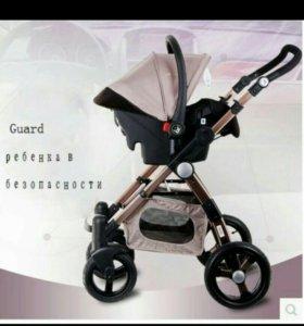Детская коляска 3в1 Baby gold