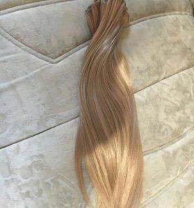 Волосы на заколках 55 см