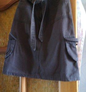 Турецкая юбка в стиле милитари