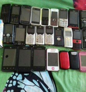 Продаю телефоны от 500. Руб. До 1800
