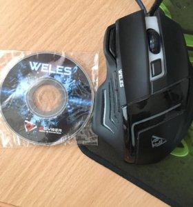 Игровая компьютерная мышь Weles GM-103