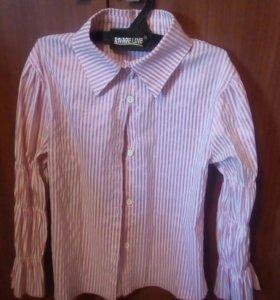 24. Рубашка для девочки. Рост 110