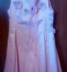 25. Платье для девочки. Рост 110