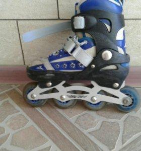 Ролики Алиша спорт с гелевыми колесами