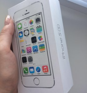 iPhone 5s 32gb (silver)