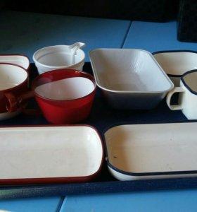 Посуда пластиковая многоразовая/одноразовая