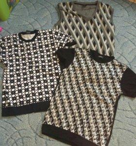 футболки и жилетка