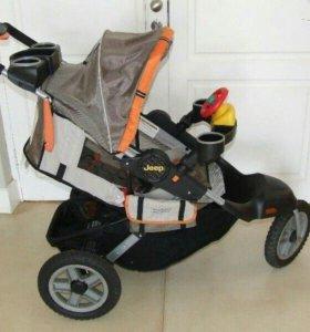 Прогулочная коляска jeep liberty sport