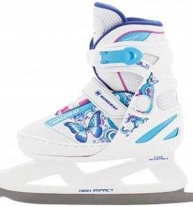 Ледовые коньки раздвижные Nordway Slide-Girl