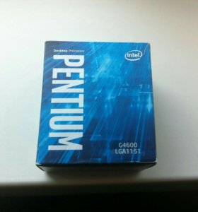 Pentium G4600 Kaby Lake (BOX)