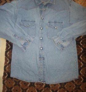 Рубашка джинсовая !!!