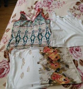 Женские летние вещи пакетов