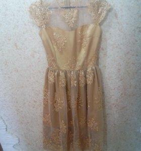 Платье кружевное продажа/прокат