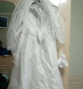Свадебное плате,42-48размер(S), в г Оренбурге