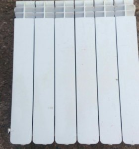 Алюминиевый радиатор 6 секций