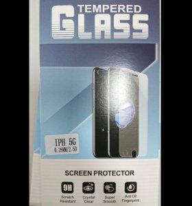 Стекло защитное iPhone 5