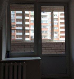 Окно балконное БУ отличного состояния.