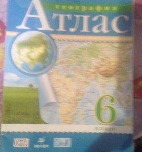 Атлас-география и контурные карты