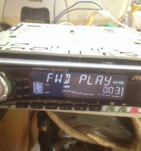 Магнитола кассетная JVC 45w х4