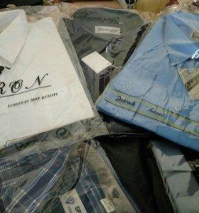 Рубашки мужские 45 р-р