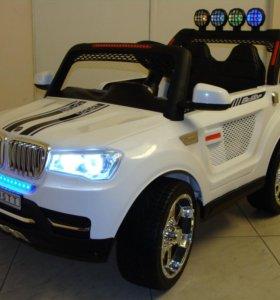 Детский электромобиль BMW Х5 4Х4 Трофи T005TT