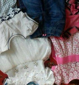 Одежда для девочки 3-5 лет