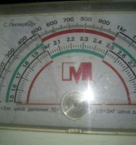 Весы настеные