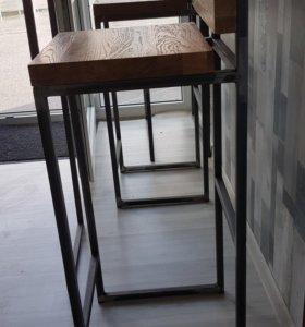 Стул барный loft industrial