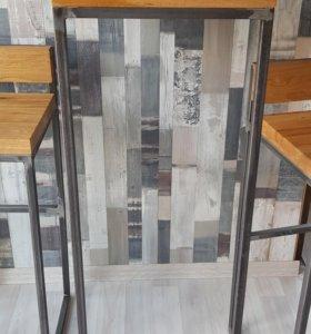 Стол барный loft industrial