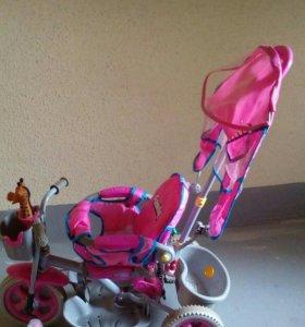 Трех колесный велосипед для девочки