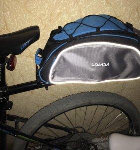 Сумка и багажник для велосипеда