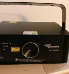 Трехцветный лазер 580 мВт