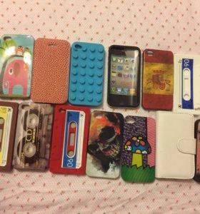 Чехлы iPhone 4 и 5