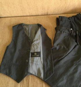 Жилетка и брюки barkland рост 130-134