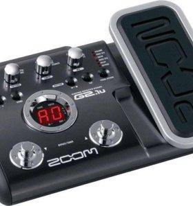 Гитарный процессор эффектов ZOOM G2.1U