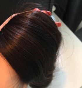 Натуральные 100% славянские волосы