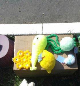 Вязаные игрушки для детей