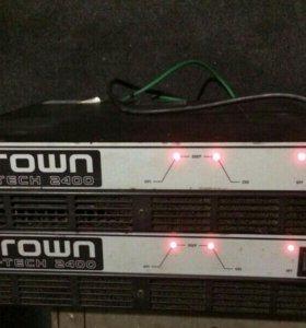 Усилители  мощности звука CROWN MC 2400