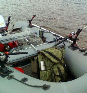 Лодка 360 с мотором 9.9