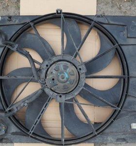 Вентилятор радиатора для Sportage Tucson 2л.