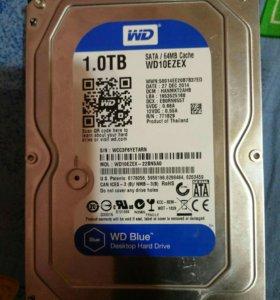 Жесткий диск hdd 1 tb wd 3.5 в идеале