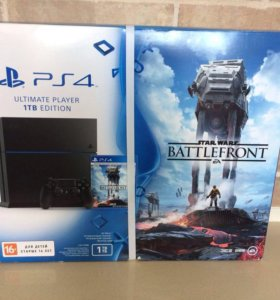 Sony Playstation 4 1TB +игра Star Wars Battlefront