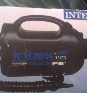 новый Электрический насос Intex 220/12В 68609