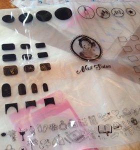 Коврик для маникюра и дизайна ногтей