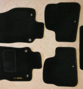 Ворсовые коврики для opel astra H hatch
