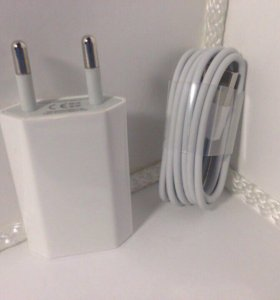 Зарядной набор: кабель+адаптер для Apple